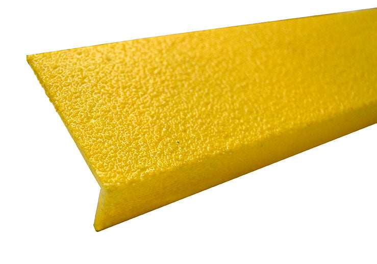 "3"" x 48"" Stair Nosing SAFETY YELLOW Medium Grit - Minimum Order is 2 Treads"