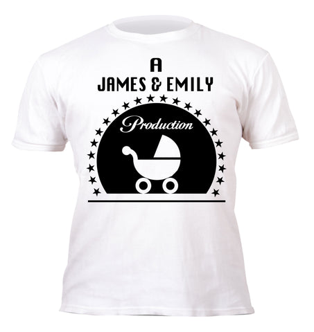 Paramount production, personalised baby, Hipster kids T-shirt, Big Brother Unique baby gift, red Kids children T-shirt
