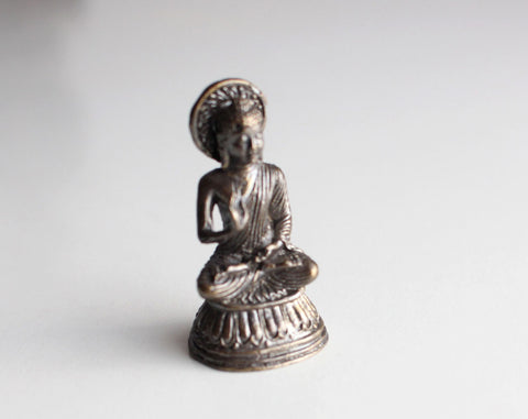 Blessing Buddha Mini Statue 10 Sets