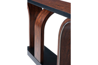 the Theodore Alexander  transitional 5305-284 living room occasional console table is available in Edmonton at McElherans Furniture + Design