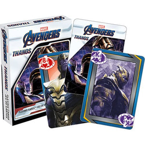 Marvel Comics Avengers: Endgame Thanos Playing Cards - Official Aquarius :: Mental XS Online