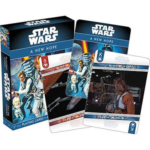Star Wars Episode IV: A New Hope Playing Cards - Official Unisex :: Mental XS Online