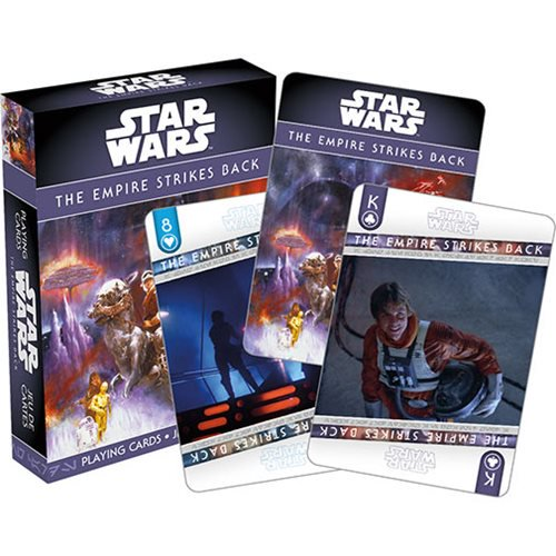 Star Wars Episode V: The Empire Strikes Back Playing Cards - Official Unisex :: Mental XS Online