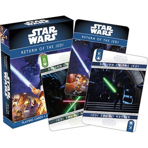 Star Wars Episode VI: Return of the Jedi Playing Cards - Official Unisex :: Mental XS Online