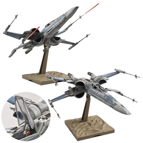 Star Wars Episode VII: The Force Awakens Resistance X-Wing Fighter 1:72 Model Kit - Official Male :: Mental XS Online