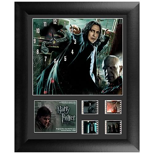Harry Potter 8: Deathly Hallows Part 2 Series 1 Film Cell Clock - Official Filmcells Ltd Limited Edition 2500 :: Mental XS Online