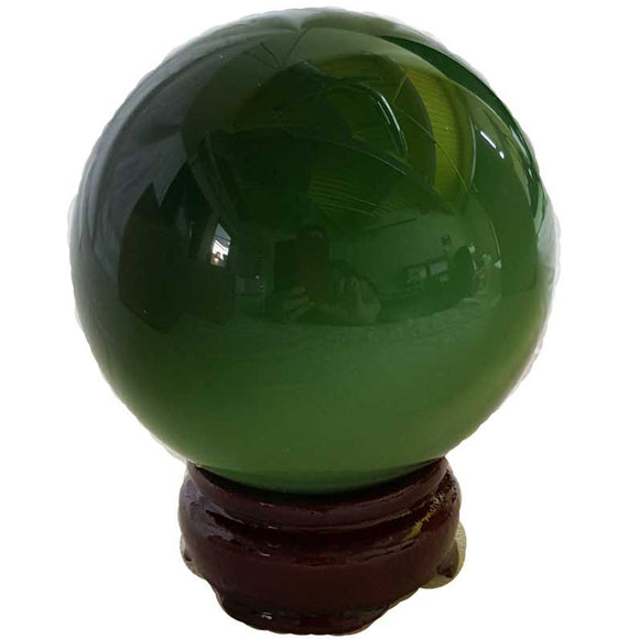Green Cat's Eye 75mm