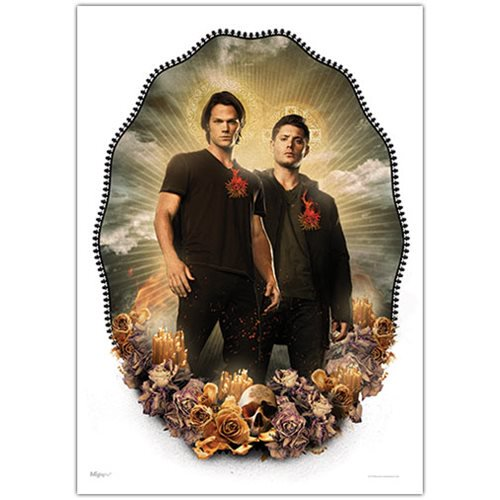 Supernatural Saints and Sinners MightyPrint Wall Art Print - Official Mightyprints :: Mental XS Online