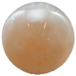 Orange Selenite Crystal Ball 2