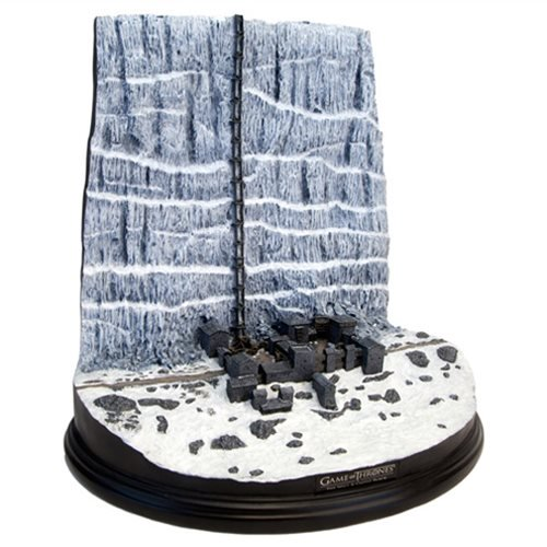 Game of Thrones Castle Black and the Wall Desktop Sculpture :: Mental XS Online