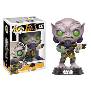 Star Wars: Rebels Zeb Pop! Vinyl Bobble Head #137 - Official Unisex :: Mental XS Online