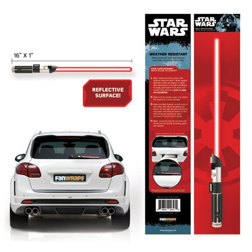 Star Wars Darth Vader Lightsaber Wiper Blade Accessory - Official Unisex :: Mental XS Online