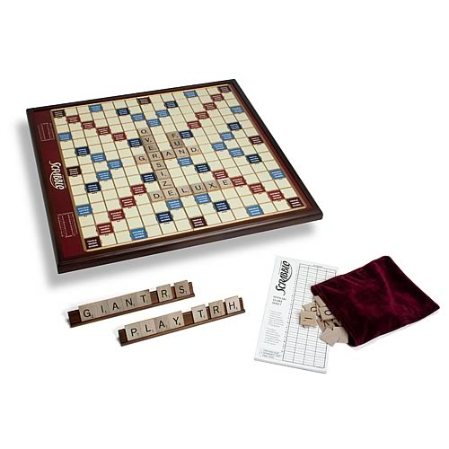 Giant Scrabble Deluxe Board Game - Winning Solutions - Official Winning Solutions :: Mental XS Online