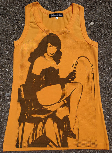 PANTI-CHRIST BETTIE PAGE TANKTOP - ORANGE