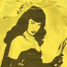 PANTI-CHRIST BETTIE PAGE TANKTOP - YELLOW