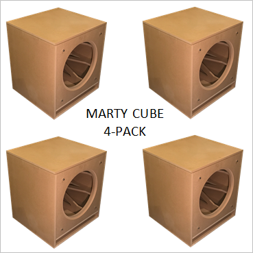 MartyCube by GSG(TM) Flat Packs (4-PACK) Wholesale Pricing $119.00/ea. + freight shipping