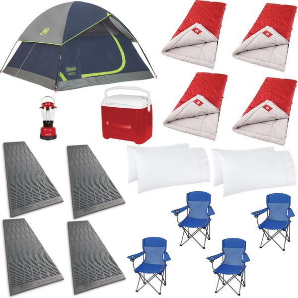 Maui Camping rental package for the family - Maui Vacation Equipment