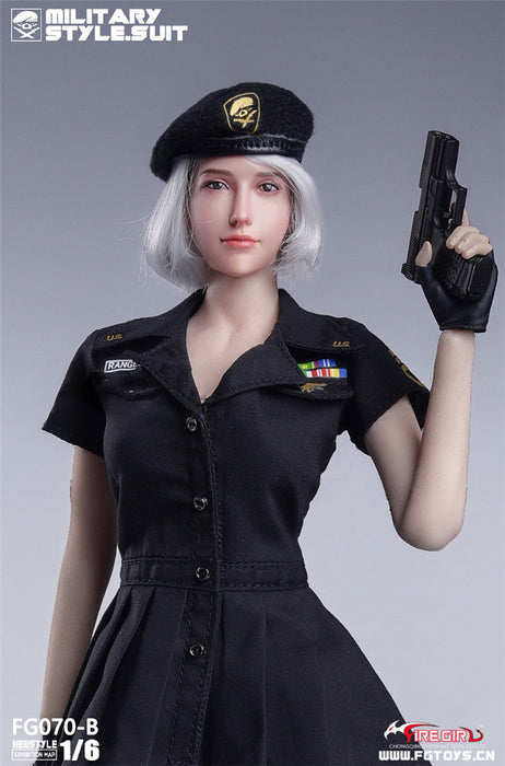 In-Stock 1/6 Scale FIRE GIRL FG070 US Military Style Suit