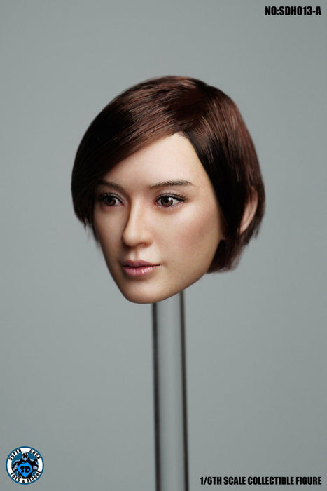 Pre-order 1/6 Scale SUPER DUCK SDH013 Female Head H#Suntan