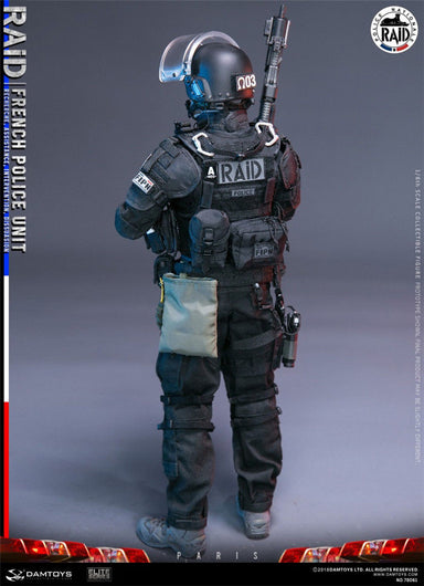 In-Stock 1/6 Scale DAMTOYS 78061 FRENCH POLICE UNIT RAID IN PARIS Action Figure