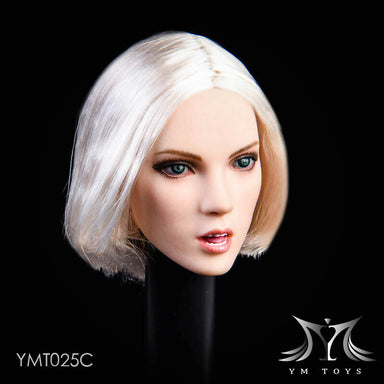 "Pre-order 1/6 Scale YMTOYS YMT025 Female Head Sculpt ""You"" H#pale"