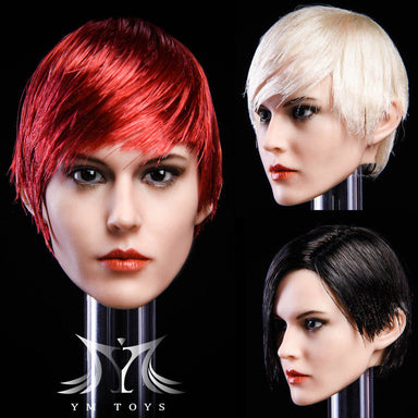 "In-Stock 1/6 Scale YMTOYS YMT015 ""Rui"" Female Head Sculpt H#Suntan"