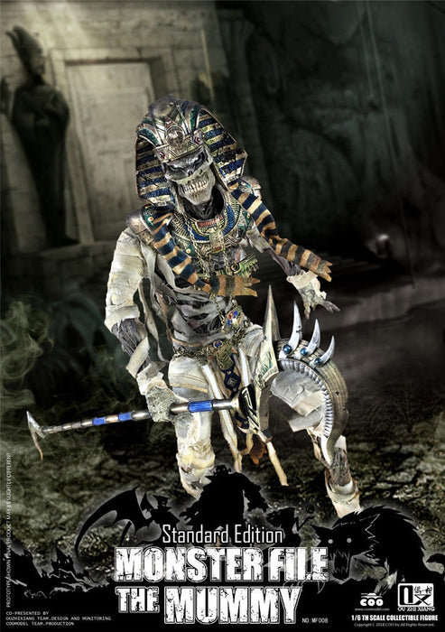 Pre-order COOMODEL X OUZHIXIANG MF008 MONSTER FILE SERIES - MUMMY STANDARD Ver.