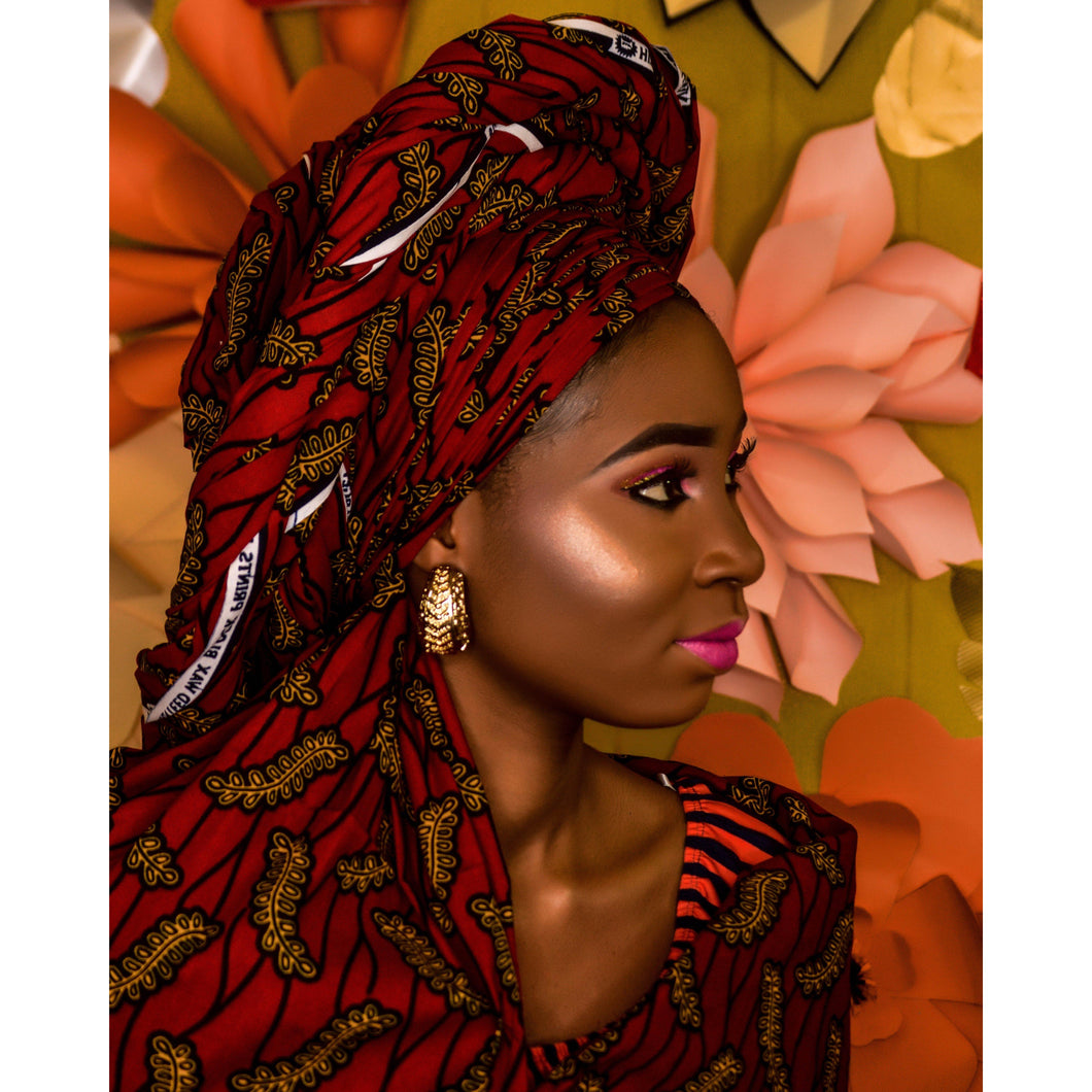 DIY Paint by Number kit for Adults on Canvas-African Beauty-Paint By Number