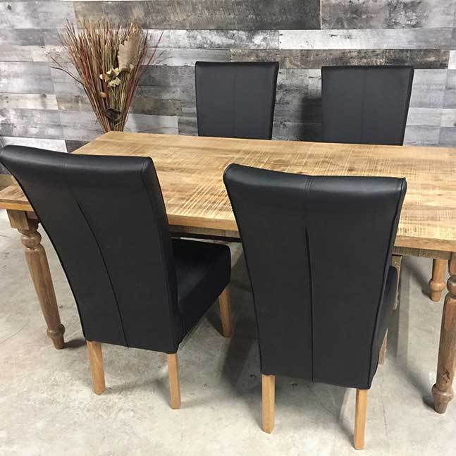 Tennessee Solid Wood Harvest Dining Table