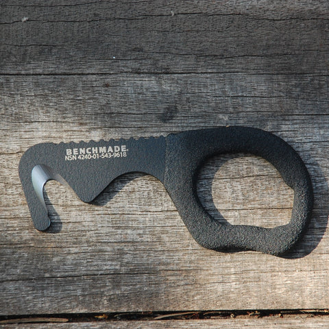 Benchmade 7 BLKW Rescue Hook Strap Cutter