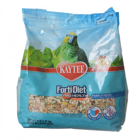 Kaytee Forti-Diet Pro Health Parrot Food with Safflower