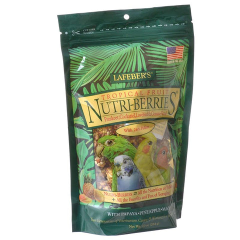 Lafeber Tropical Fruit Nutri-Berries Parakeet, Cockatiel & Conure Food