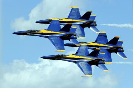 Aviation and Transportation Blue Angels Poster 16
