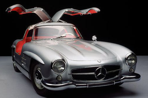 Aviation and Transportation Mercedes 300Sl Poster 16