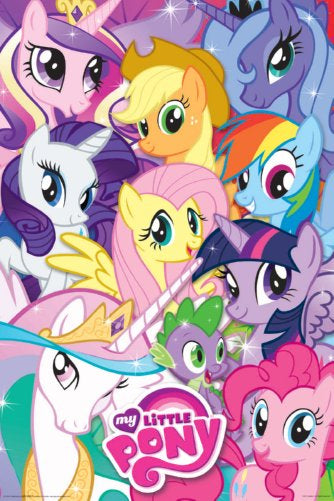 My Little Pony Portraits Poster