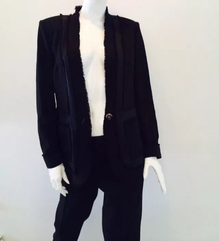 Escada Wool Suit with Cropped Pants