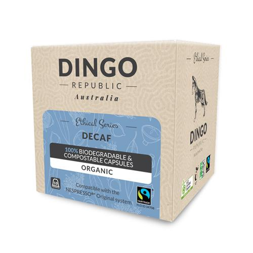 Decaf Fairtrade Organic Coffee - Swiss Water Process | Biodegradable + Compostable