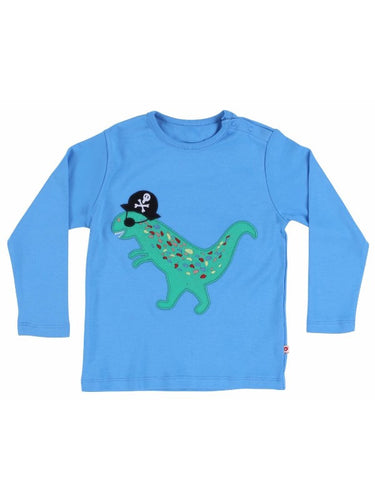 Piccalilly - Top Blue Pirate Applique