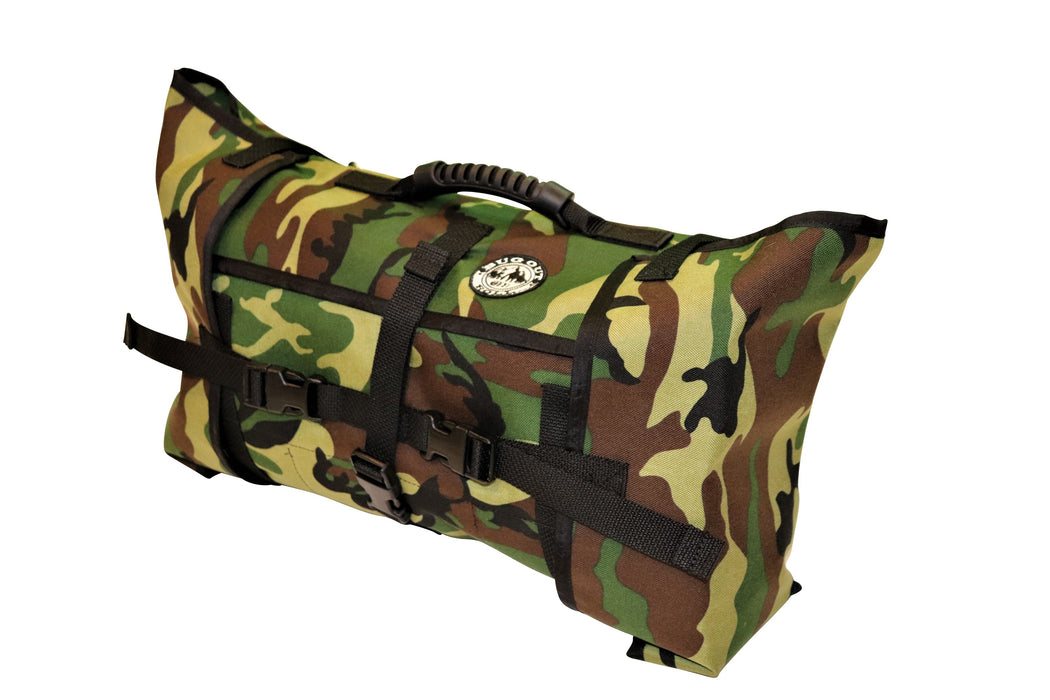 Complete FOREST CAMO roll includes 1 Main Section + 1 Vinyl Mod + 1 Cordura Mod