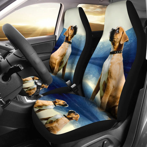 Boxer Dog Print Car Seat Covers- Free Shipping