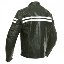 SEGURA RETRO JACKET – BLACK/WHITE