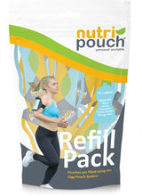 10 x  250 ml Pack of Nutripouch Refill Pouches for Homemade Smoothies, Protein Shakes