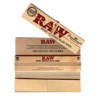 3-Pack Organic Connoisseur Kingsize w/Tips by Raw