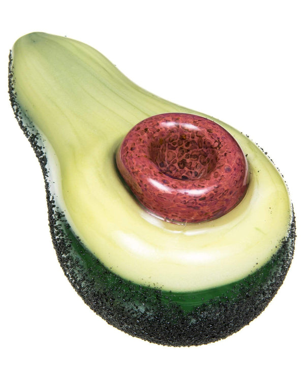 Avocado Hand Pipe by Empire Glassworks