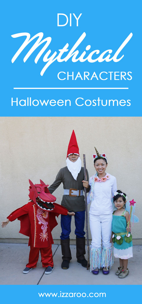 Halloween 2018 - DIY Tutorials - Mythical Characters Halloween Costumes