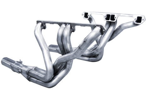 1964-1988 AMC V-8 Small Body American Racing Headers Full-Length Dog Leg Port Stainless (3 Variations)