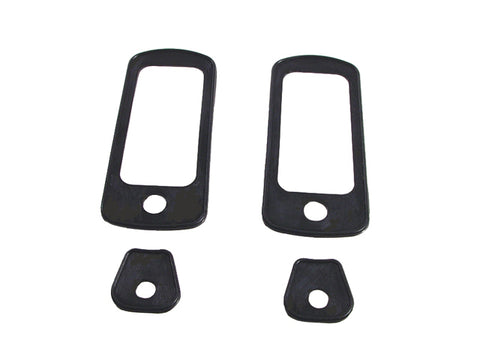 1967 AMC Rubber Right & Left Door Handle Gaskets 4-Piece Set