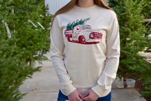 Vintage Christmas Truck Long Sleeve Shirt