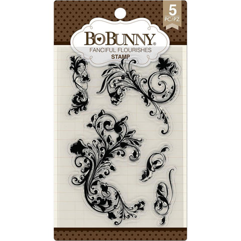 Bo Bunny Stamps Fanciful Flourishes