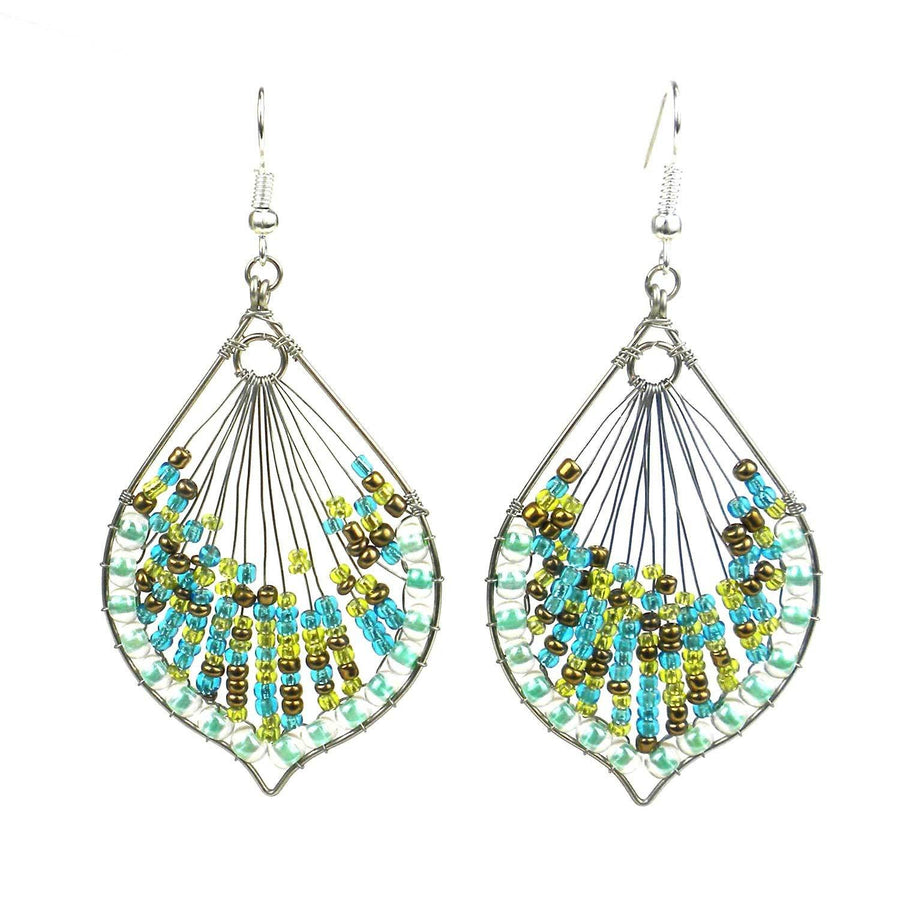 Cleo Earring - Sea - Lucias Imports (Fair Trade)